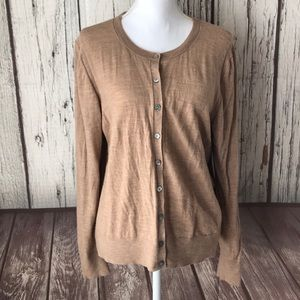 Banana republic Merino Wool cardigan size XL